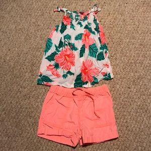 Girls Carter's outfit size 5